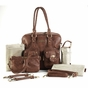 Rachel Caramel Diaper Bag by Timi & Leslie - click to Enlarge