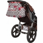 Rachel Roundabout Royal Ruby Montage Diaper Bag by Bumble Bags - click to Enlarge