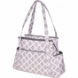 Rachel Roundabout Sweet Blush Montage Diaper Bag by Bumble Bags - click to Enlarge