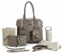 Rachel Taupe Diaper Bag by Timi & Leslie - click to Enlarge