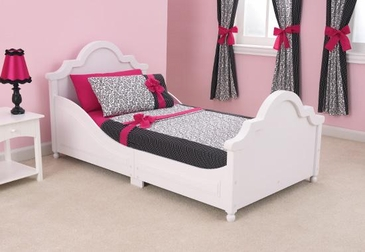 Raleigh Bed - White