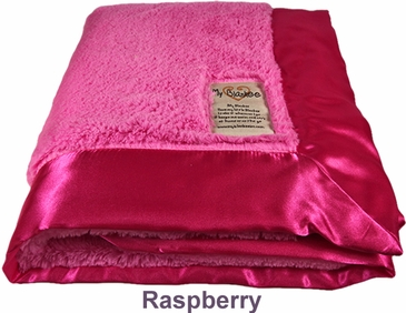 Raspberry Luxe Blanket by My Blankee