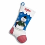 Reindeer and Snowman Christmas Stockings - Rudolph - click to Enlarge