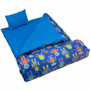 Robots Kids Sleeping Bag