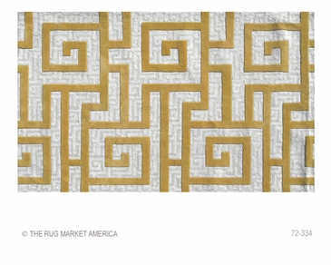 Rome Gold Tufted Rug