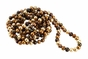 Rope Style 72 Inch Natural Dyed Chocolate Pearl Necklace - click to Enlarge