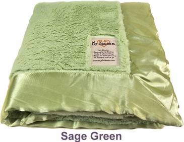Sage Green Luxe Blanket by My Blankee