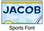 """Sports Canvas Wall Art Personalized - 10"""" x 24"""" - click to Enlarge"""