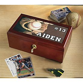 Sports Themed Collectible Box - Personalized