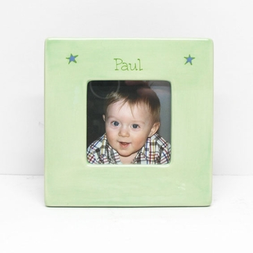 Square Baby Picture Frame - Personalized