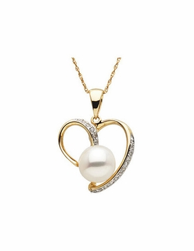 Steal Your Heart Freshwater Pendant