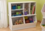 Storage Unit with Shelves - White - click to Enlarge