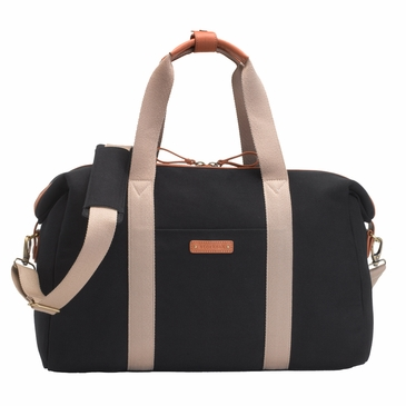 Storksak Bailey Black Diaper Bag