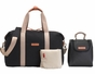 Storksak Bailey Black Diaper Bag - click to Enlarge