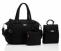 Storksak Bobby Black Diaper Bag - click to Enlarge