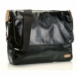 Storksak Dori Black Messenger Diaper Bag - As Seen on Jessica Alba  (On Sale!)
