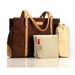 Storksak Gigi Chocolate Diaper Bag (As Seen on Angelina Jolie)