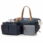 Storksak Noa Diaper Bag in Navy - click to Enlarge