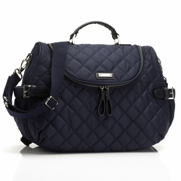 Storksak Poppy Navy Diaper Bag