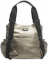 Storksak Tania Bee Graphite Diaper Bag - click to Enlarge