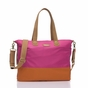 Storksak Tote Fuchsia Orange Diaper Bag - click to Enlarge