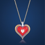 Stunning Heart Necklace