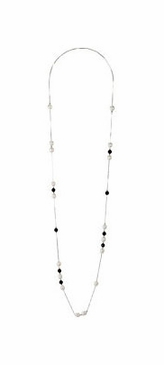 Stunning Pearl & Agate Necklace