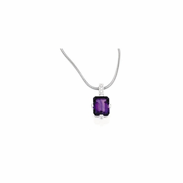 Stylish Cubic Zirconia Necklace