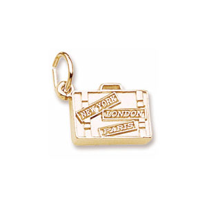 Suitcase Charm by Forever Charms