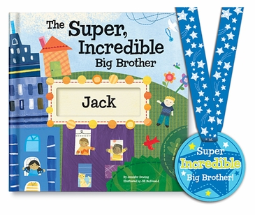 Super, Incredible Big Brother Personalized Storybook