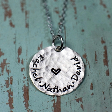 Sweet Heart, Big Love Necklace