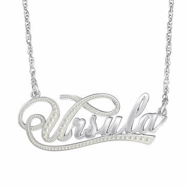 Sweetly Feminine Name Necklace