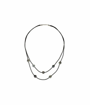 Tahitian Pearl Necklace with lobster clasp