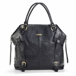 The Charlie II Tote Diaper Bag by Timi & Leslie in Black