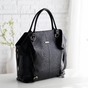 The Charlie II Tote Diaper Bag by Timi & Leslie in Black  - click to Enlarge