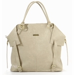 The Charlie II Tote Diaper Bag by Timi & Leslie - Light Brown (As Seen on Jessica Alba!)