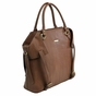 The Charlie Tote Diaper Bag by Timi & Leslie - Brown Cinnamon - click to Enlarge