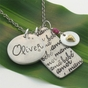 The Mama, Bebe, Amor Necklace - click to Enlarge