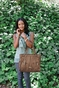 Dawn Caramel Diaper Bag by Timi & Leslie - click to Enlarge