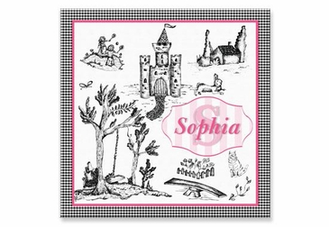 """Toile Canvas Wall Art Personalized - 15"""" x 15"""""""