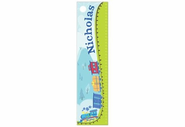 Train Growth Chart Personalized