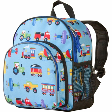 Trains, Planes & Trucks Pack 'n Snack Kids Backpack