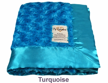 Turquoise Snail Blanket by My Blankee