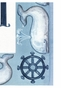 Whale Watching Wall Hanging Personalized by Dish and Spoon - click to Enlarge