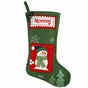 Whip-stitched Patchwork Christmas Stockings - Personalized - click to Enlarge