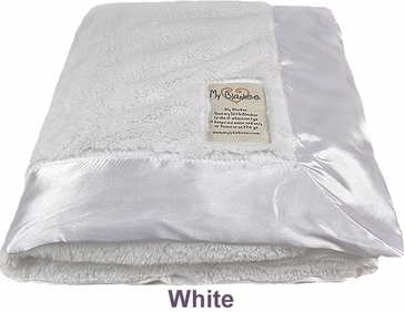 White Luxe Blanket by My Blankee