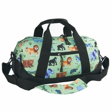 Wild Animals Kids Duffel Bag
