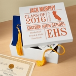 Wooden Graduate Keepsake Box