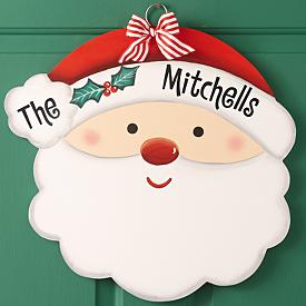 Wooden Holiday Signs - Personalized