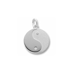Yin Yang Charm by Forever Charms - Personalized